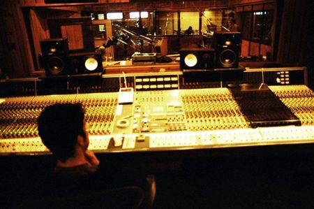 Big board at Avatar Studios, August 2006